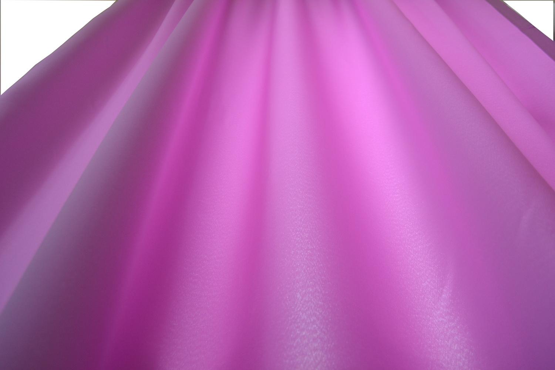Zasłona na szelkach tkanina róż
